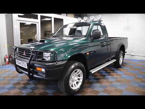 Mitsubishi L200 Pickup Available at James Glen Car Sales