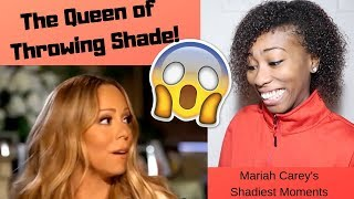 Mariah Carey's ShadiestDiva Moments | REACTION!