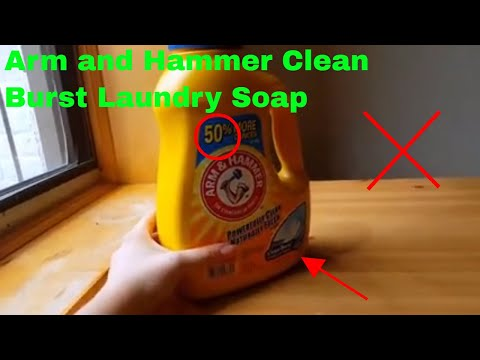 ✅  How To Use Arm and Hammer Clean Burst Laundry Soap Review