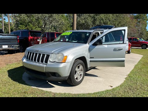 Pre-Owned 2008 Jeep Grand Cherokee RWD 4dr Laredo