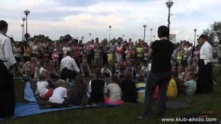 preview picture of video 'Pokaz i lekcja pokazowa podczas festynu charytatywnego - Gorzkowice 3.08.2014'