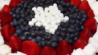 Patriotic Fruit Trays -3 Ways!
