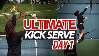 5 Day ULTIMATE Kick Serve Lesson | Day 1: Swing Path