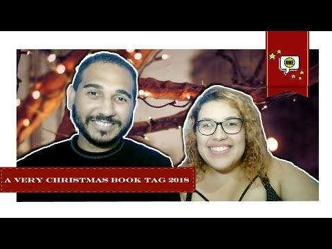 A Very Christmas BOOK TAG ? 2018 | Feat. Nath | Na Minha Estante