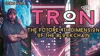Why I Love TRON TRX - The Future 4th Dimension Of The Blockchain - 50x Gain Potential - 🚀💯