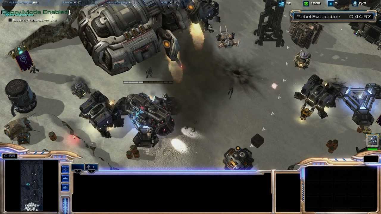 One Man's Turned Star Wars's Battle Of Hoth Into A Starcraft 2 Map