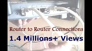 How to connect a router to a router