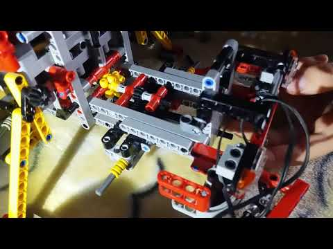 Lego Technik 8258 Moc mit Dolly u  Tieflader - смотреть