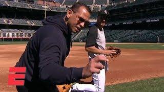 Nolan Arenado shows Alex Rodriguez why he's a Gold Glove third baseman   MLB on ESPN