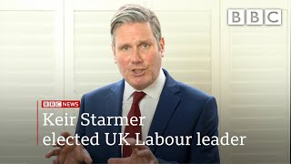 Coronavirus: Sir Keir Starmer's first message as new Labour Party leader - BBC