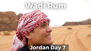 Bedouin Lamb Barbecue at Wadi Rum