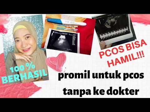 Program hamil PCOS 100% Berhasil - promil sendiri tanpa ke dokter Part 1 - Wildamoi