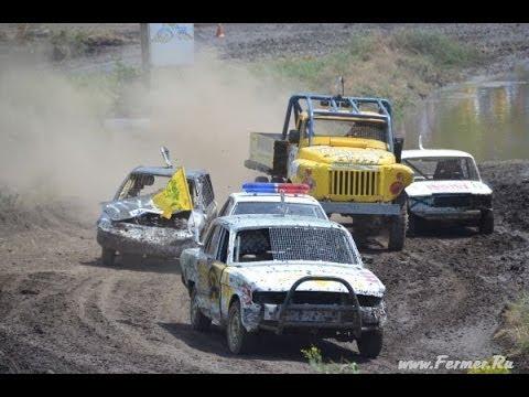Гонки на выживание на тракторных гонках БизонТрекШоу-2013