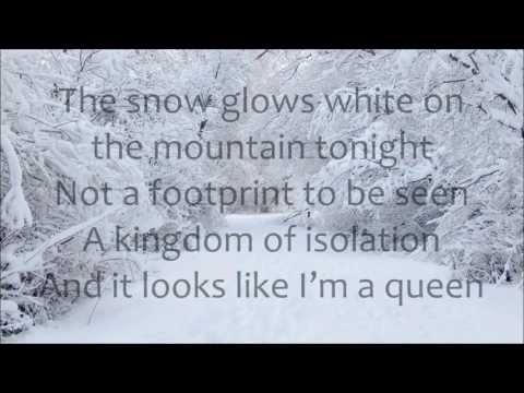 Demi Lovato - Let It Go LYRICS (from Frozen)