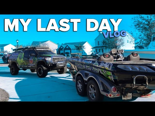 Fishing & My Last Day (VLOG)