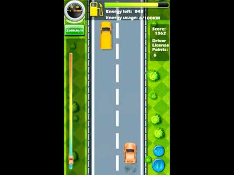 Video of Green Driver: SPEEDY CAR