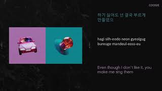 COOGIE 쿠기 - Wifey (Feat. Changmo 창모) lyrics (HAN/ROM/ENG)