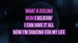 Flashdance... What A Feeling (Karaoke) - Irene Cara