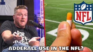 Pat McAfee Talks Adderall Use in The NFL