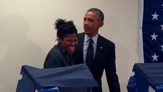 Chicago voter to Obama: