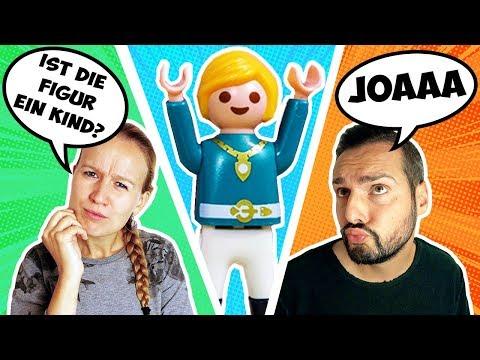 WER IST ES? CHALLENGE Familie Vogel Edition! Können Kathi & Kaan Figuren aus Playmobil City erraten?