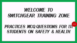 occupational safety and health mcq iti - 免费在线视频最佳电影电视