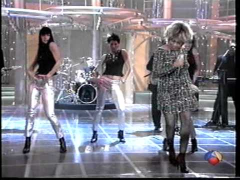 "Tina turner ""When The Heartache Is Over"" en antena 3"