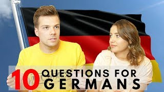 Questions for Germans 🇩🇪👀 | What Do Brits Think About Germans?