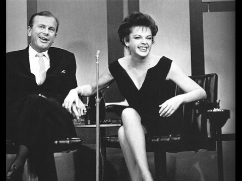 JUDY GARLAND Jack Paar Show Robert Goulet BEST QUALITY Judy&#39s very first talk show appearance