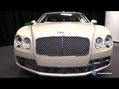 2016 Bentley Flying Spur W12 - Exterior and Interior Walkaround - 2016 Montreal Auto Show