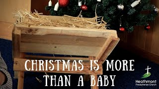 Christmas is more than a . . . Baby.