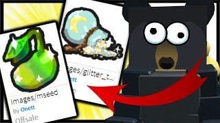 New Leaked Items For Next Update Roblox Bee Swarm Simulator