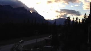 View of Three Sister Mountain