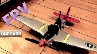 R/C MUSTANG P51-FPV-ONBOARD/PERSON VIEW 400mm