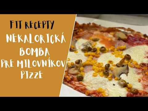 FIT RECEPTY: Zdravá pizza