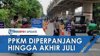 Presiden Jokowi Perpanjang PPKM Darurat hingga Akhir Juli 2021, Ini Penjelasan Menko PMK