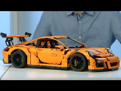 Porsche 911 GT3 RS - LEGO Technic - Designer Video 42056
