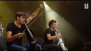 2CELLOS   Smooth Criminal [Live At Exit Festival]