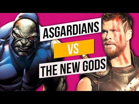 NEW GODS vs THE ASGARDIANS: Who Wins?
