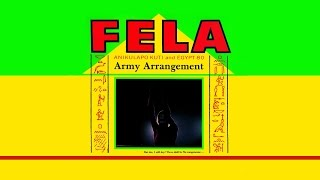 Fela Kuti   Army Arrangement (LP)