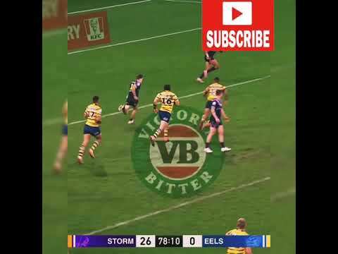 STORM VS EELS HIGHLIGHTS best game 2019