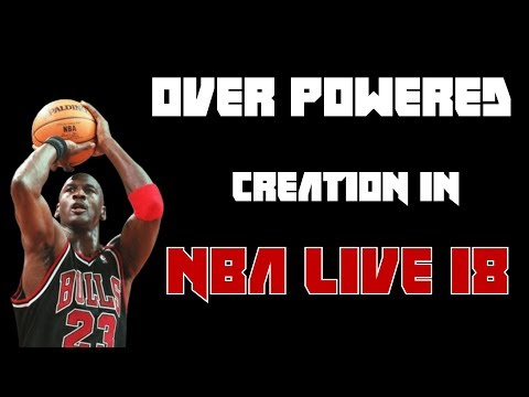 Michael Jordan NBA LIVE 18 | 34 pts in 1st Quarter!!