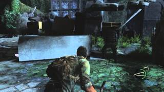 The Last of Us: Remastered - Downtown: Listen Mode Distance Upgraded, Revolver Acquired Died PS4