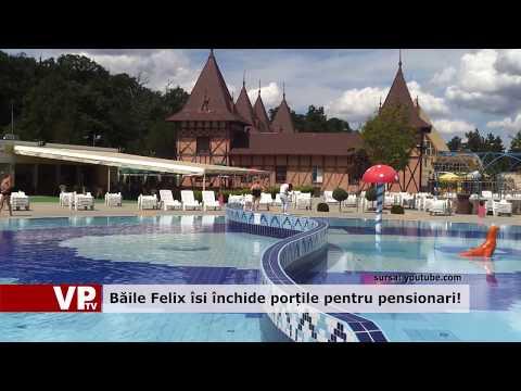 Băile Felix își închide porțile pentru pensionari