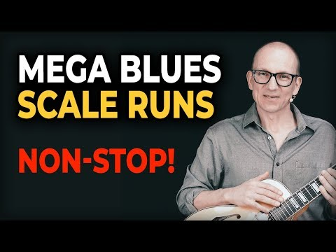 Blues Scale Runs Guitar Lesson