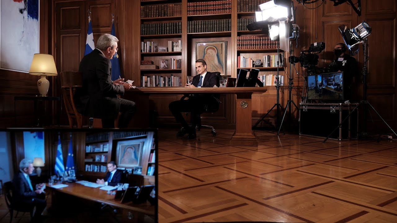 Συνέντευξη του Πρωθυπουργού Κυριάκου Μητσοτάκη στον ANT1 και τον δημοσιογράφο Νίκο Χατζηνικολάου