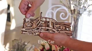 """Time for Machine Деревянный конструктор-автомобиль """"Elvis Car"""""""