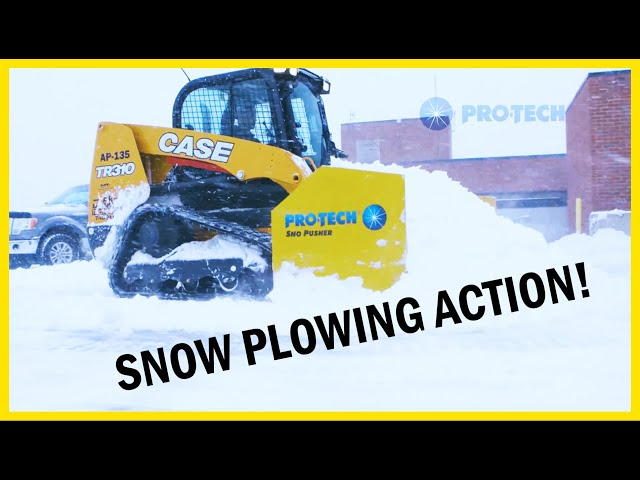 Action Video - Rubber Edge Sno Pusher