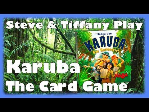 Steve & Tiffany Learn & Play: Karuba The Card Game