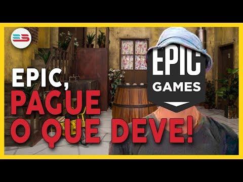EPIC GAMES CHEIA DE DÍVIDAS